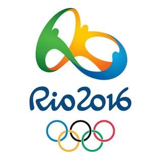 Olímpica de Rio logotipo de gráficos vectoriales