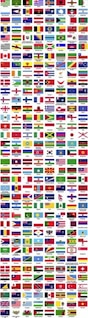 banderas del mundo por orden alfabético