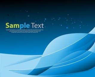 abstracto azul de fondo del espacio gráfico vectorial