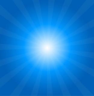 los rayos del sol de vectores de fondo