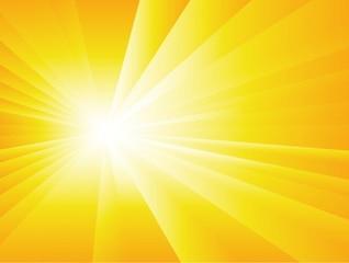 verano de fondo con sun burst