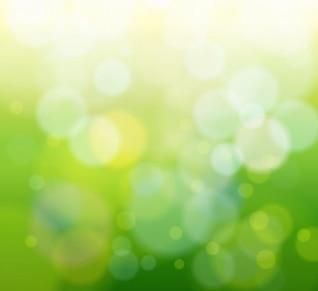 abstracto bokeh verde luz de fondo del gráfico de vector