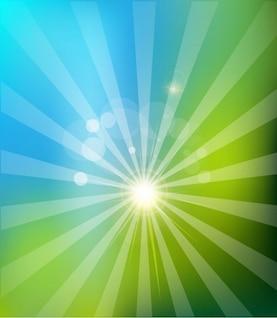 Logotipo de fondo vector solar natural,