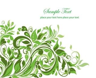 Diseño de plantas de arbusto de la vendimia