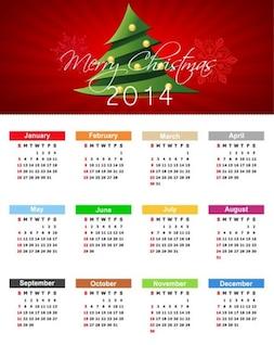 Navidad Calendario 2014