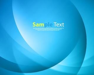 La luz de fondo azul con el texto