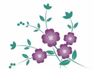 vector de la flor