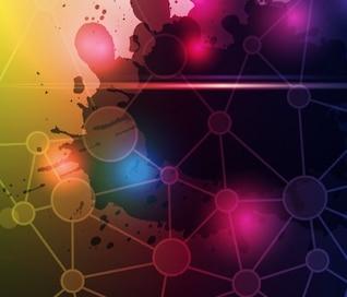 La tecnología de vectores de fondo abstracto
