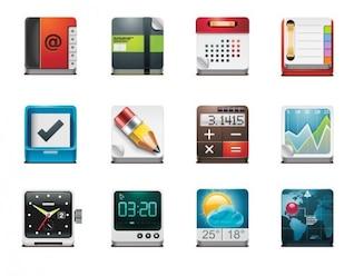 aplicación gratuita de vectores Icon Pack