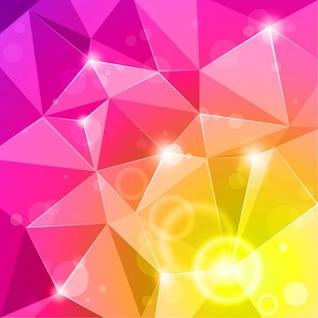 abstracta fondo brillante ilustración vectorial