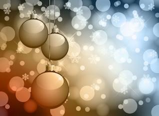 abstracta bokeh fondo de Navidad de gráficos vectoriales