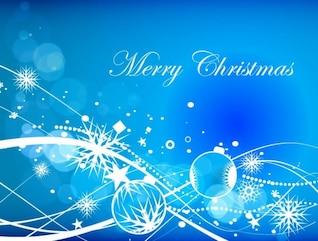 abstracto azul de Navidad de vectores de fondo