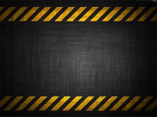 grunge antecedentes de la construcción de peligro