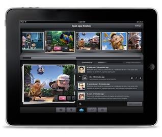 diseño inspirador iPad psd