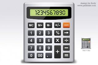 calculadora icono psd