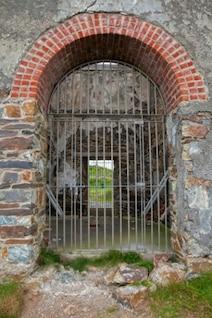 Tankardstown mina de cobre puerta de entrada hdr