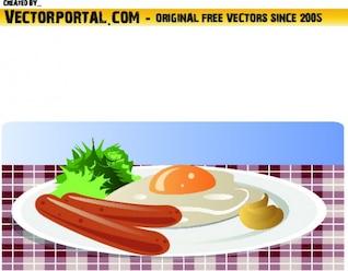 Plato de desayuno