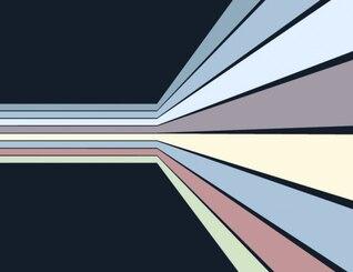 Perspectiva de rayas pared de fondo abstracto