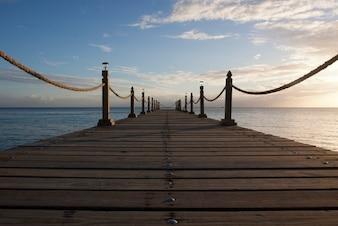 Un camino hacia el mar