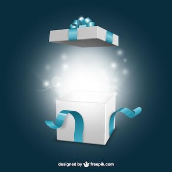 Abriendo regalo