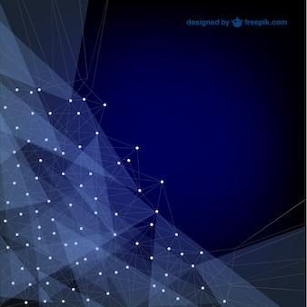 Vector fondo abstracto azul