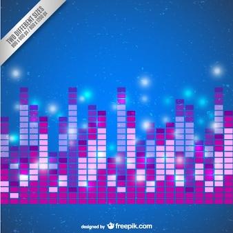 Barras de audio abstractas