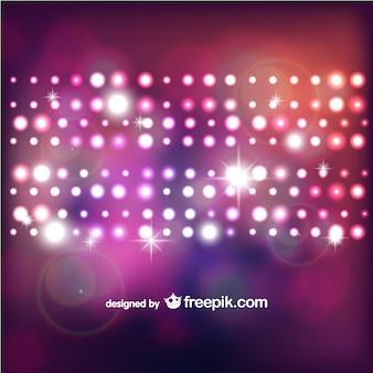Fondo estilo bokeh con luces