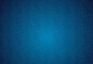 Abstracto retro azul flor vector floral