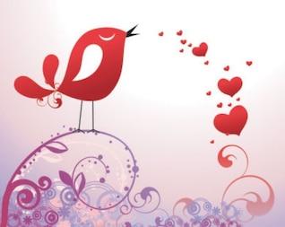 acciones postal hasta el día de San Valentín y el vector