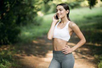 Actividad teléfono fondo sonrisa gadget feliz