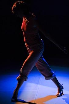 Actuación de danza contemporánea