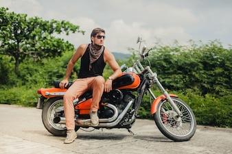 Adulto moda transporte al aire libre viaje