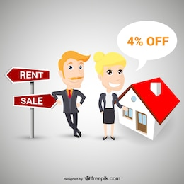 Agentes de inmobiliaria