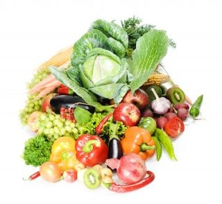 alimentación sana, vegetariana, close-up