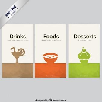 Alimentación y bebidas banners