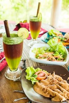 Alimentos orgánicos de Bali