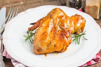 Alitas de pollo a la parrilla