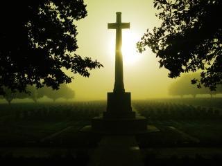 Amanecer brumoso en el Somme