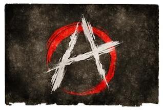 anarquía bandera del grunge