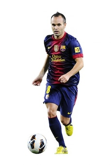 andres iniesta Barcelona La Liga