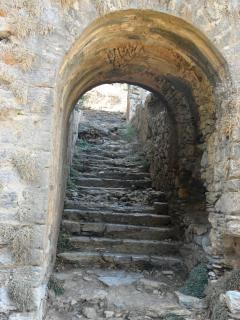 Antigua escalera del siglo XVIII
