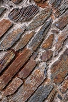 Antiguo muro de piedra de textura HDR