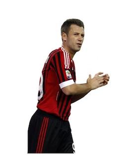 Antonio Cassano, el AC Milan de la Serie A