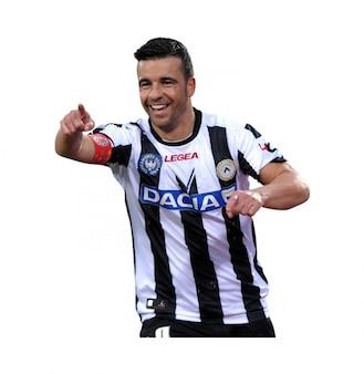 Antonio Di Natale de Udinese Serie A