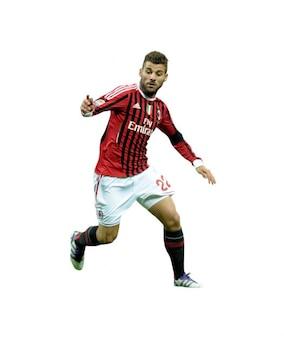 Antonio Nocerino, el AC Milan de la Serie A