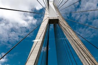 Anzac Bridge, Sydney. Nueva Gales del Sur. Australia.