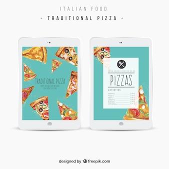 Aplicación comida italiana