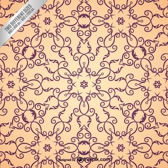 Patrón ornamental árabe