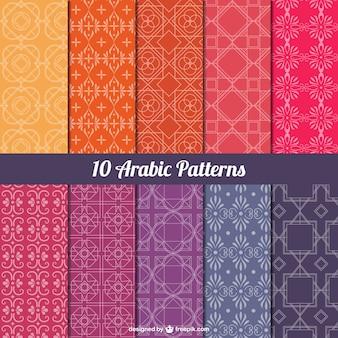 Pack de patrones árabes