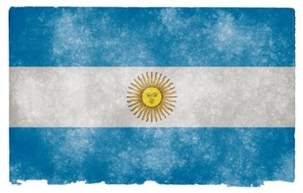 Argentina grunge bandera